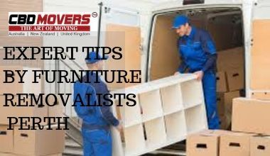 EXPERT TIPS BY FURNITURE REMOVALISTS PERTH