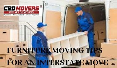 FURNITURE MOVING TIPS FOR AN INTERSTATE MOVE