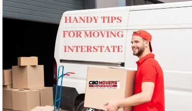 HANDY TIPS FOR MOVING INTERSTATE