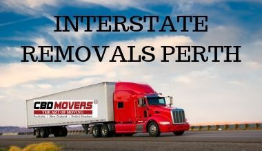 INTERSTATE REMOVALS PERTH