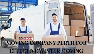 MOVING COMPANY PERTH FOR EFFECTIVE WINTER MOVING