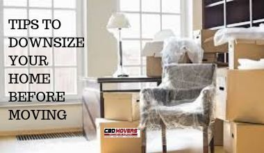 TIPS TO DOWNSIZE YOUR HOME BEFORE MOVING