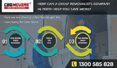 HOW CAN A CHEAP REMOVALISTS COMPANY IN PERTH HELP YOU SAVE MORE?